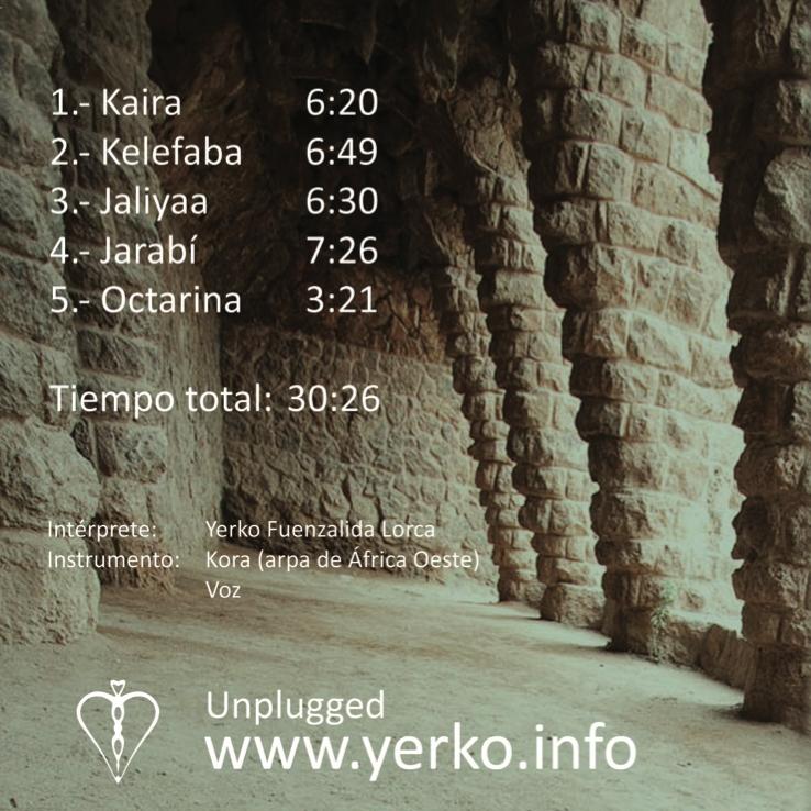Yerko 傳統西非豎琴專輯
