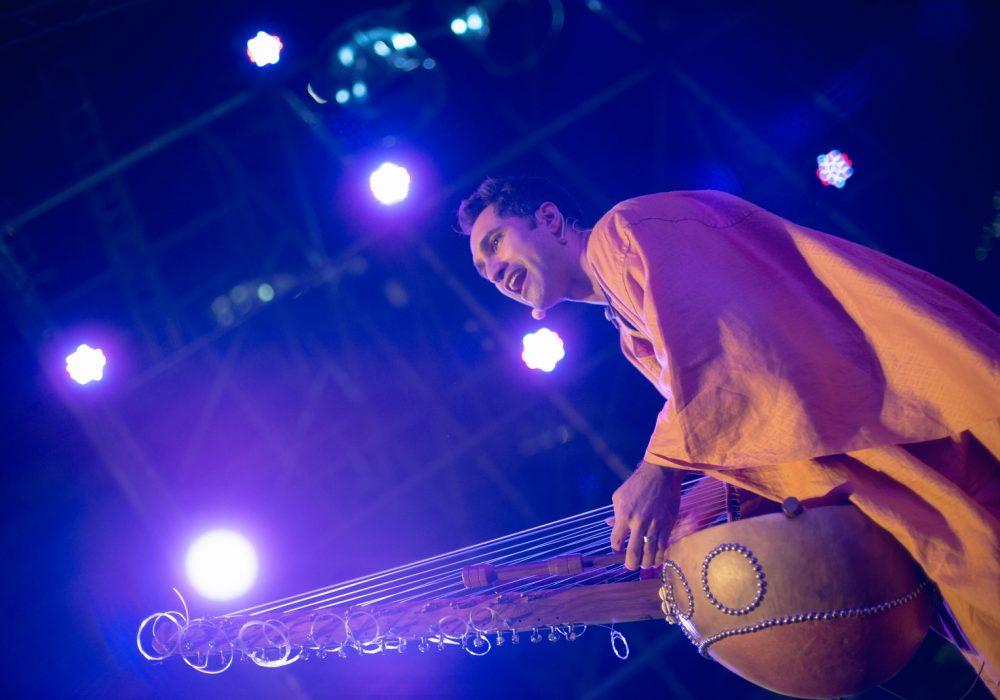 非洲豎琴演奏Yerko