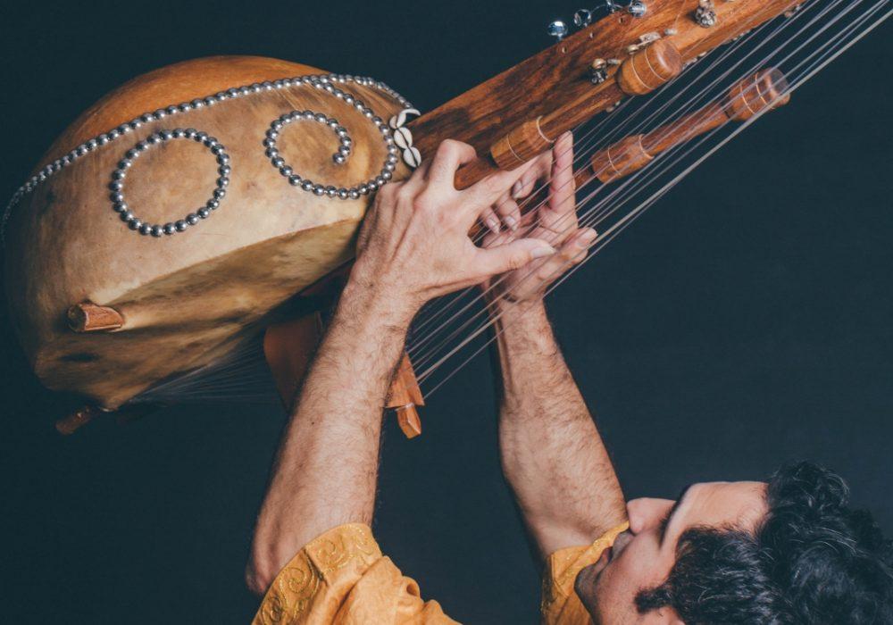 非洲豎琴音樂家Yerko
